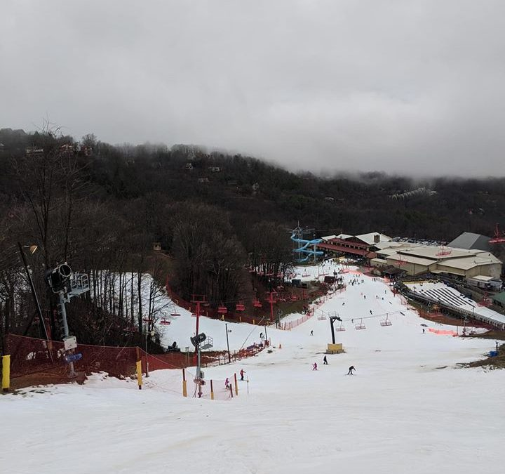Ober Gatlinburg Snow, Gatlinburg SkyBridge, Gatlinburg SkyLift, Gatlinburg snow, Ober Gatlinburg, Pigeon Forge snow, Snow in the Smokies, Tennessee Snow, Where to see snow in Gatlinburg, Where to see snow in Pigeon Forge, where to see snow in the Smoky Mountains